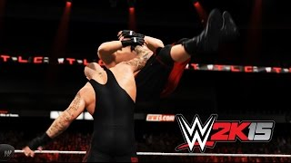 WWE 2K15 PC - Brock Lesnar vs Undertaker [Last man standing]