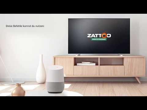 Google Sprachsteuerung bei Zattoo - so einfach geht's