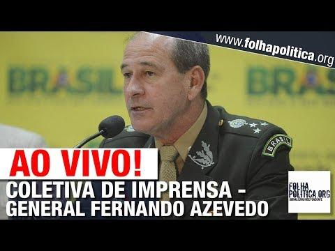 AO VIVO: MINISTRO DA DEFESA GENERAL AZEVEDO FAZ PRONUNCIAMENTO E CONCEDE COLETIVA - BOLSONARO