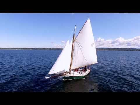 Friend Ship sailing on Lake Champlain