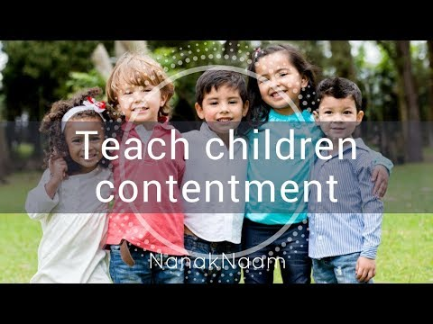 How to teach children about death and contentment?