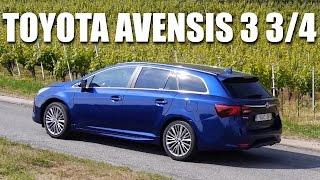 Toyota Avensis FL 2015 (PL) - test i pierwsza jazda próbna