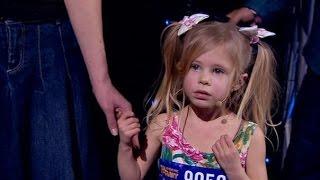 Україна має талант Діти с 4 марта на канале СТБ - Сможет ли талантливая малышка побороть страх–