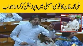 PTI Leader Ali Muhammad Khan befitting reply to Opposition in National Assembly | 16 July 2019