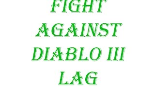 Diablo 3 Season 9 2.4.3  Lag Issues & Frame drops