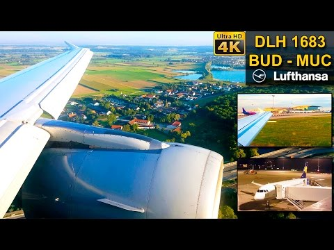 TRIP REPORT | Budapest - Munich | AWESOME LIGHT | LUFTHANSA