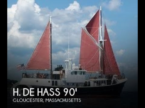 Used 1963 H. De Hass 78 Trawler for sale in Gloucester, Mass
