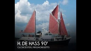 Used 1963 H. De Hass 78 Trawler for sale in Gloucester, Massachusetts