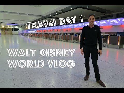 Walt Disney World & Florida Vlog | April 2017 | Day 1 Travel Day
