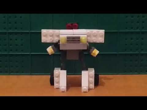 Туториал как сделать трансформера из LEGO