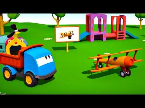 meraklı kamyon leo ve uçak  eğitici çizgi film  türkçe izle