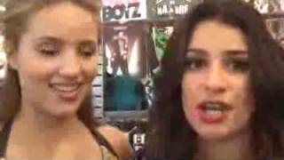 Dianna Agron & Lea Michele - Gleek Tour