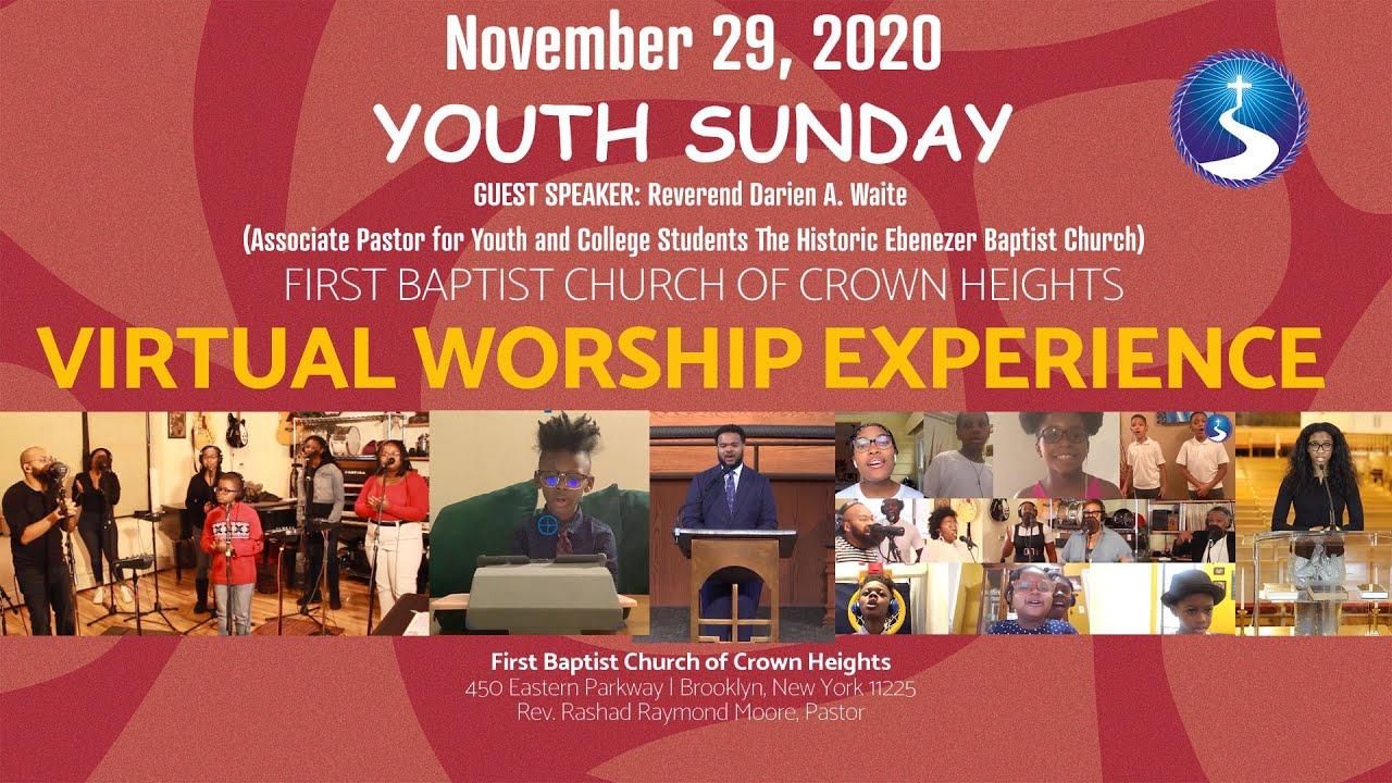 November 29, 2020: Youth Sunday Virtual Worship Service