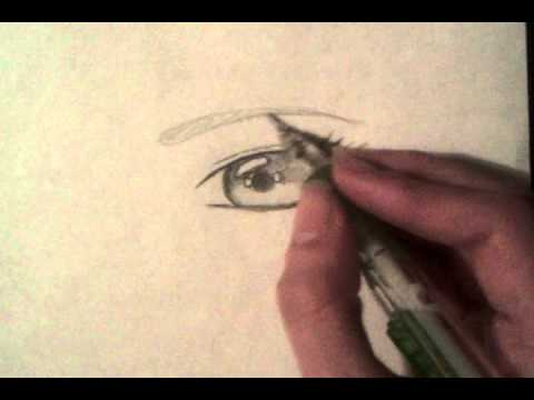 How To Draw Manga Anime Eyes Male And Female Step By