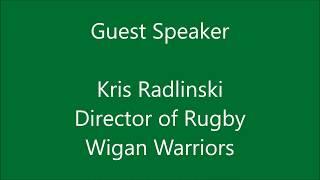 Rugby Trade Directory Networking Event - Guest Speaker, Kris Radlinski