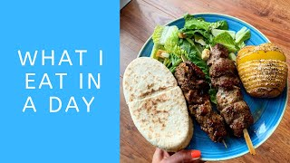 What I Eat in a Day - Runners Rest Day