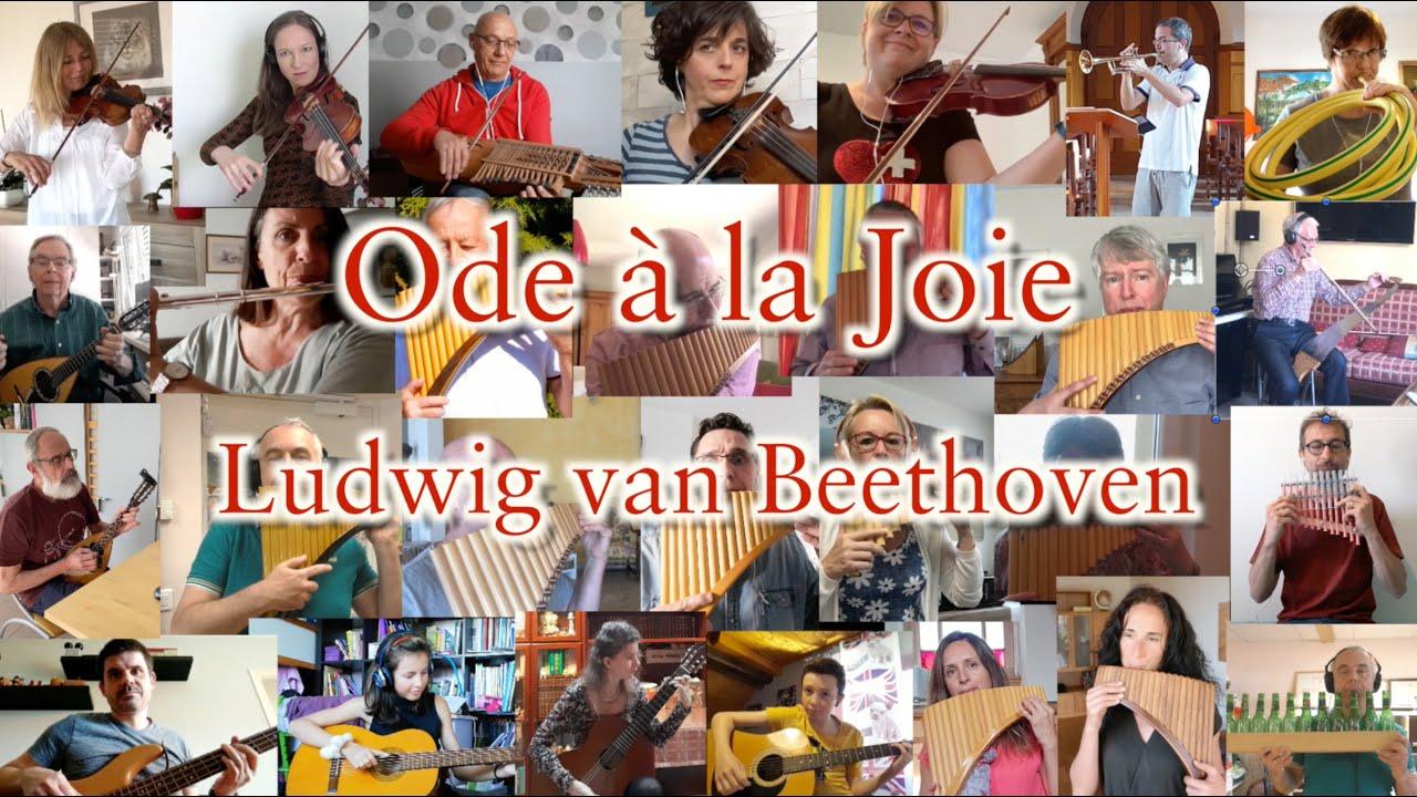 Ode à la joie de Beethoven