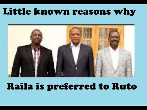 Little Known Reason Why Raila Is Preferred Over Ruto