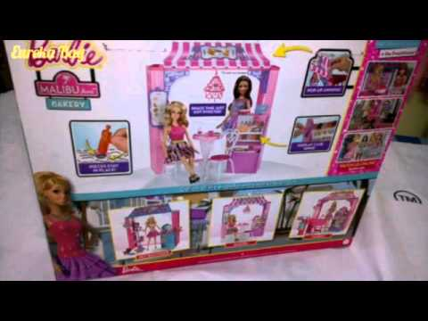 Barbie Malibu Bakery Set Toy Review by Eureka Bag