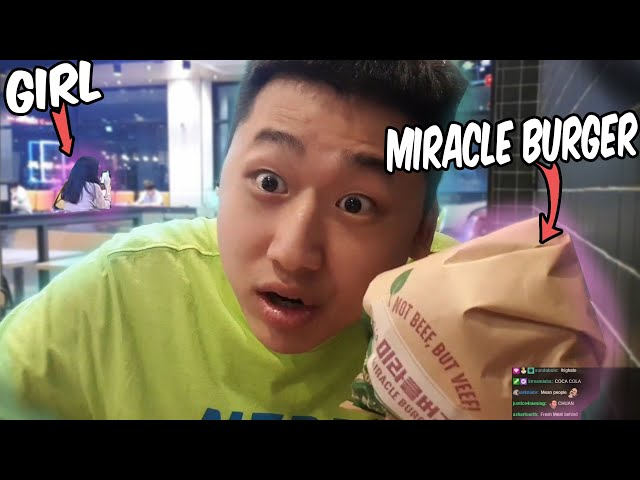 Stalking on Girls for twitchchat And Eating Delicious Fastfood (VLOG)