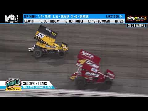 Knoxville Raceway 360 Highlights - May 4, 2019