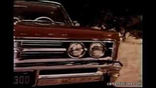 1966 Chrysler 300 - original commercial in color