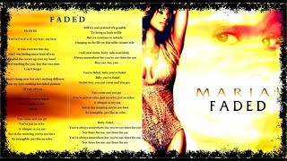 "Mariah Carey ""Faded"" [EP 4-Tracks]"