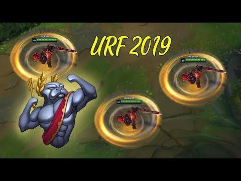Những Siêu Phẩm Kinh Dị Trong Chế Độ URF 2019 - LMHT