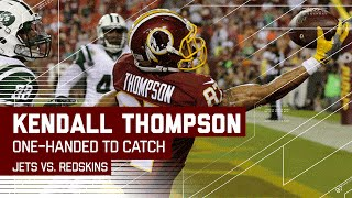 For the Win! Kendall Thompson One-Handed TD Grab! (Preseason) | Jets vs. Redskins | NFL