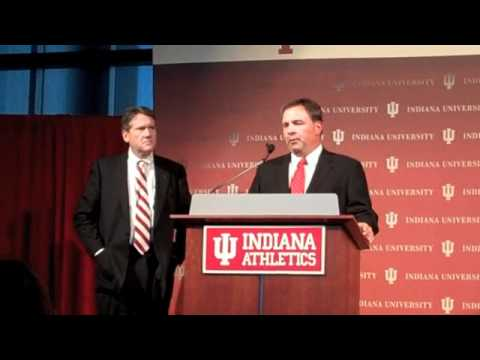 Kevin Wilson Introduced as Indiana Football Head Coach