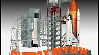 """AlexModelling """"OUTBOX REVIEW"""" Revell 1/144 Launch tower and space shuttle with rocket booster"""""""