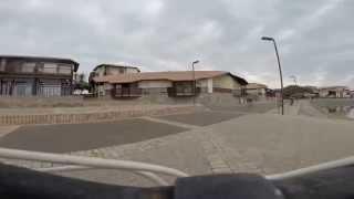 ballade en vélo dans le village du Vieux Boucau