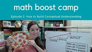 How to Build Conceptual Understanding in Math | Math Boost Camp Ep 2