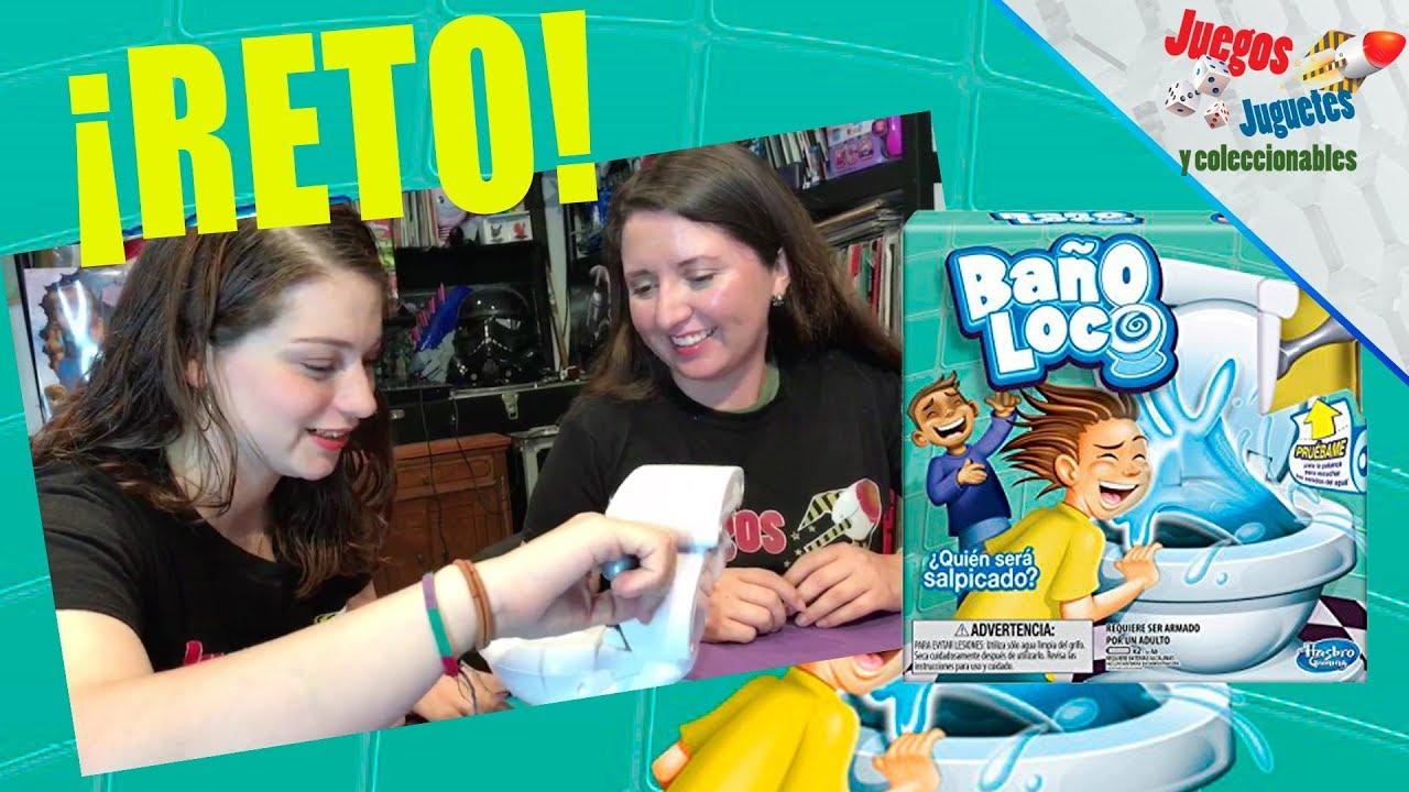 Reto Bano Loco Hasbro Gaming Juegos Juguetes Y Coleccionables