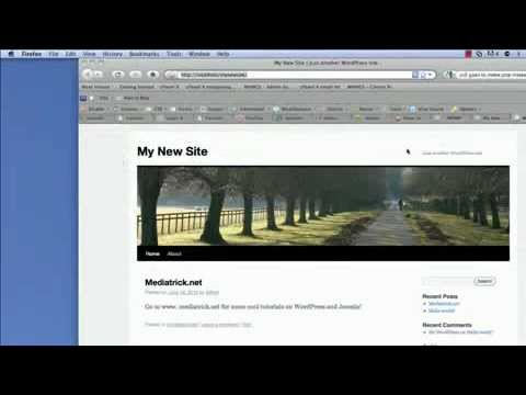 How to Create wordpress theme in dreamweaver CS5 - YouTube