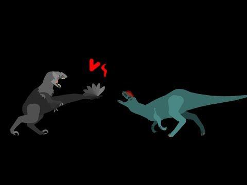 MBA: utahraptor vs dilophosaurus