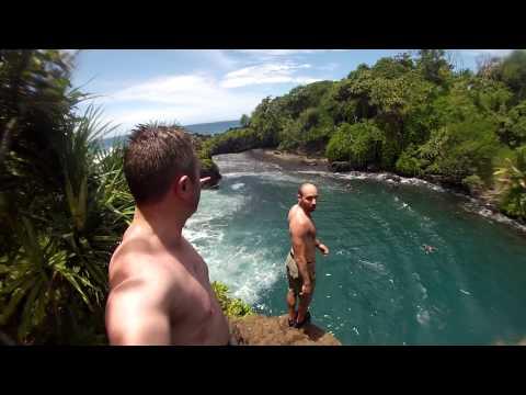 Venus Pools Epic Cliff Dive - Maui, HI
