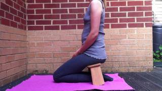 How To Sit On A Meditation Stool