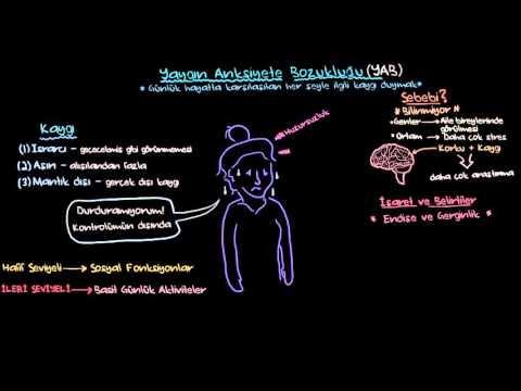 Yaygın Anksiyete Bozukluğu (Sağlık: Akıl Sağlığı) (Psikoloji / Akıl Sağlığı)