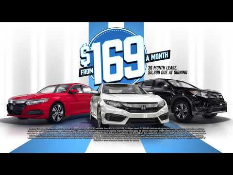 Honda Model Year End Sale in South Florida