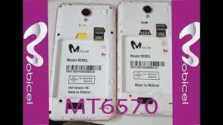 How To Flash Mobicel Rebel MT6570 6.0 and Free Firmware Download