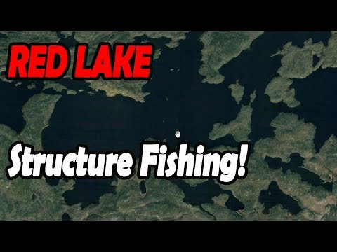 Red Lake Ontario Find Structure, You'll Find FISH!!
