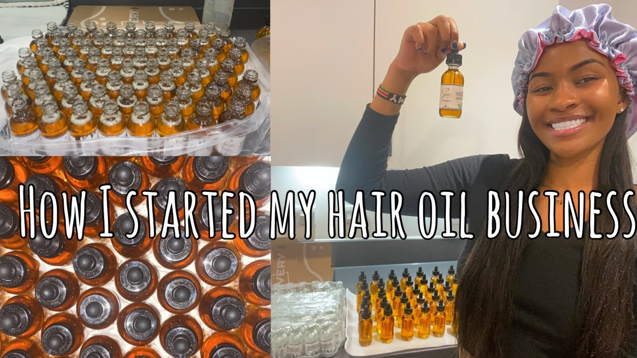 STARTING A BUSINESS FROM HOME! // SIMOS HAIR GROWTH OIL