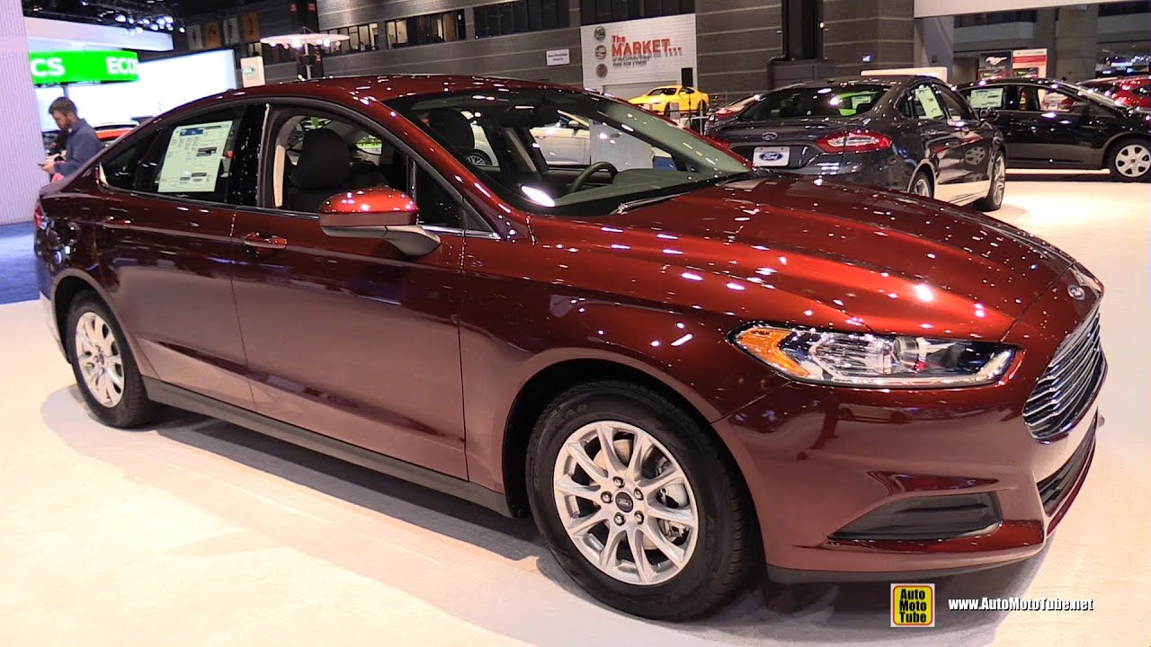 2015 Ford Fusion Exterior And Interior Walkaround 2015 Chicago Auto Show Youtube