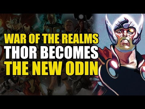 War Of The Realms Conclusion: Thor Becomes The New Odin | Comics Explained