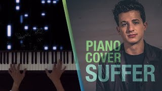Charlie Puth - Suffer - Easy Piano Tutorial