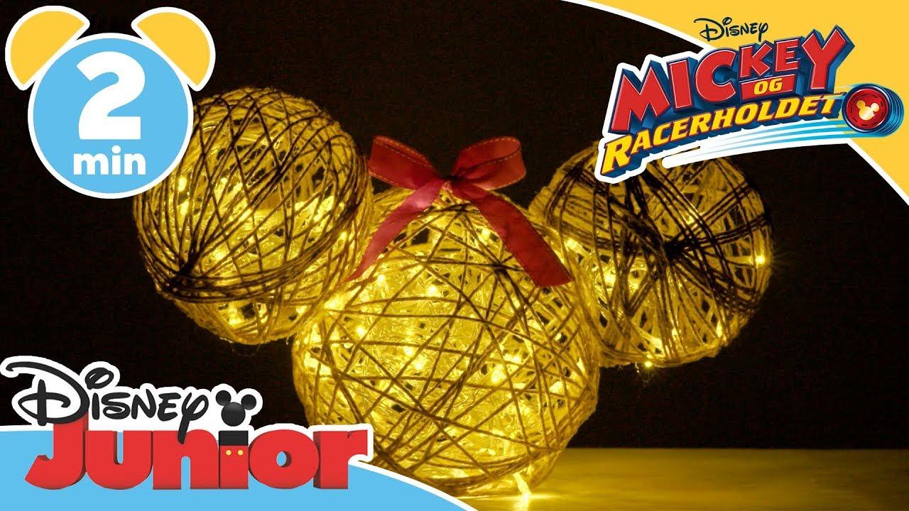 Mickey og Racerholdet JULEPUSLERIER | Lampe ✨- Disney Junior Danmark