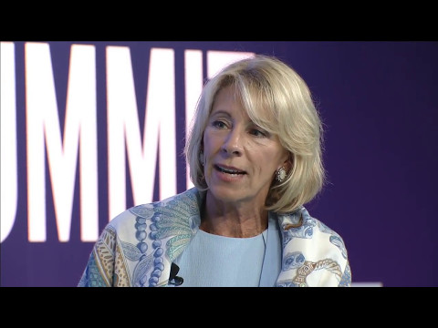 ASU GSV Summit: Keynote and Fireside Chat with Secretary of Education Betsy DeVos