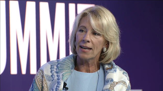 asu gsv summit keynote and fireside chat with secretary of education betsy devos