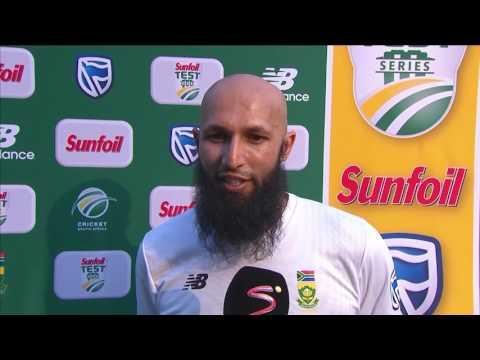 South Africa vs Sri Lanka - 3rd Test - Day 1 - Hashim Amla Interview